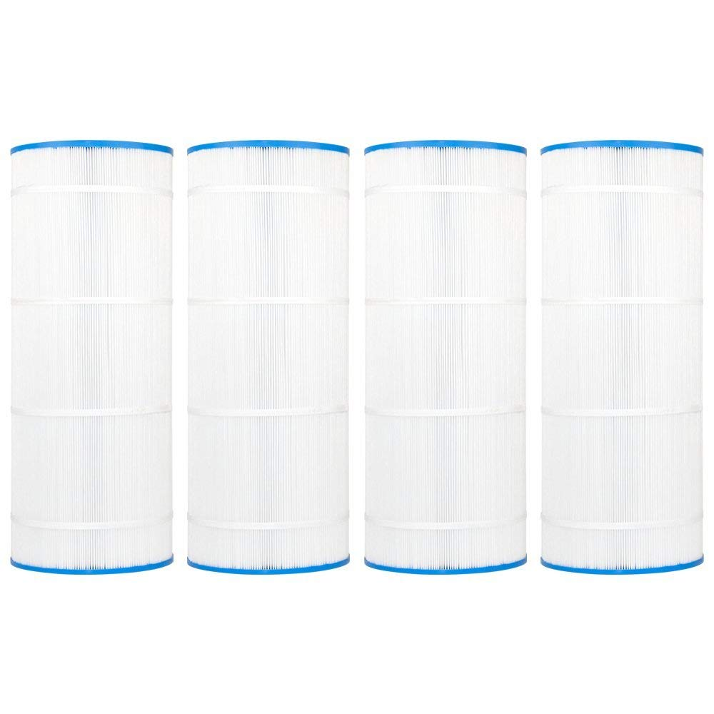 """Clear Choice CCP311 Pool Spa Replacement Cartridge Filter for Waterway Pool 150, Leisure Bay WW-150 Filter Media, 9-15/16"""" Dia x 25-5/16"""" Long, [4-Pack]"""