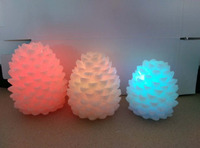 Flameless Feature Flickering Rechargeable Led Candle wholesale