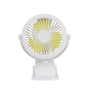 Rechargeable Battery Operated Clip on  Min Desk and Stroller  Personal Portable Fan with 3 Speeds Fan