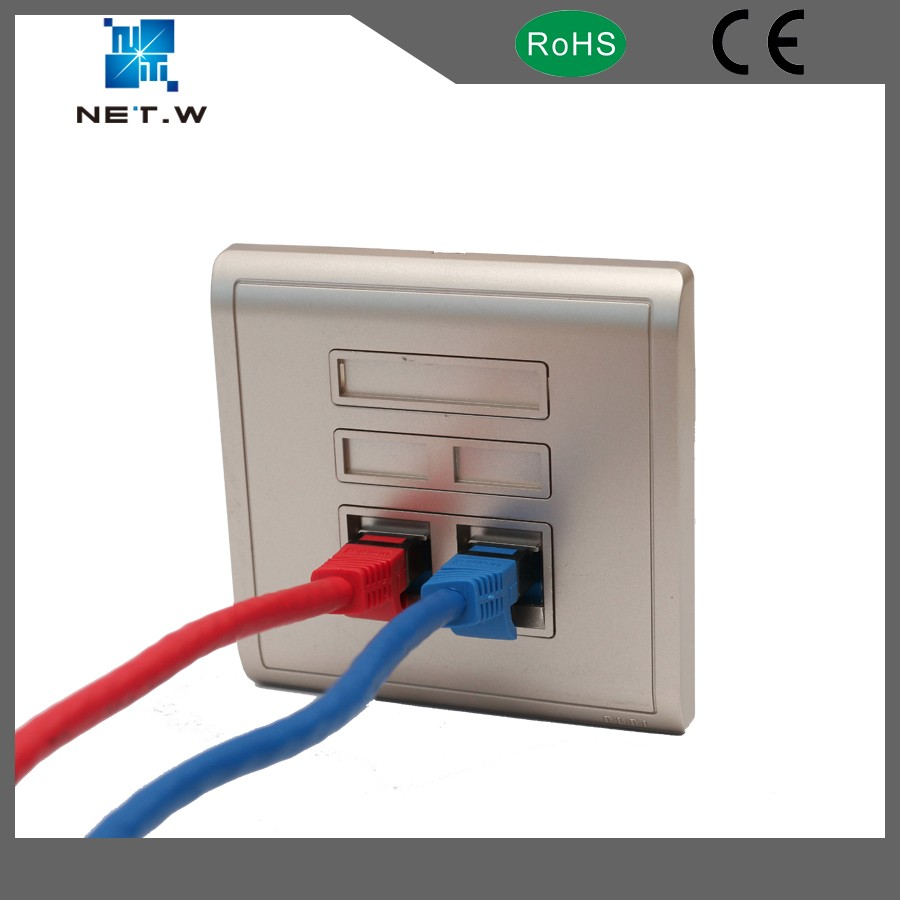 Cat5e Cat6 Cat6a Patch Cord Ethernet Cable With 90 Degree Angled Wiring Cat5 Wall Socket Plug