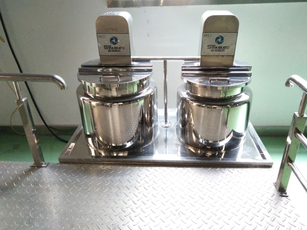 Cosmetic chemical vacuum emulsifying mixer for laboratory from China Guangzhou manufacturer Sina Ekato