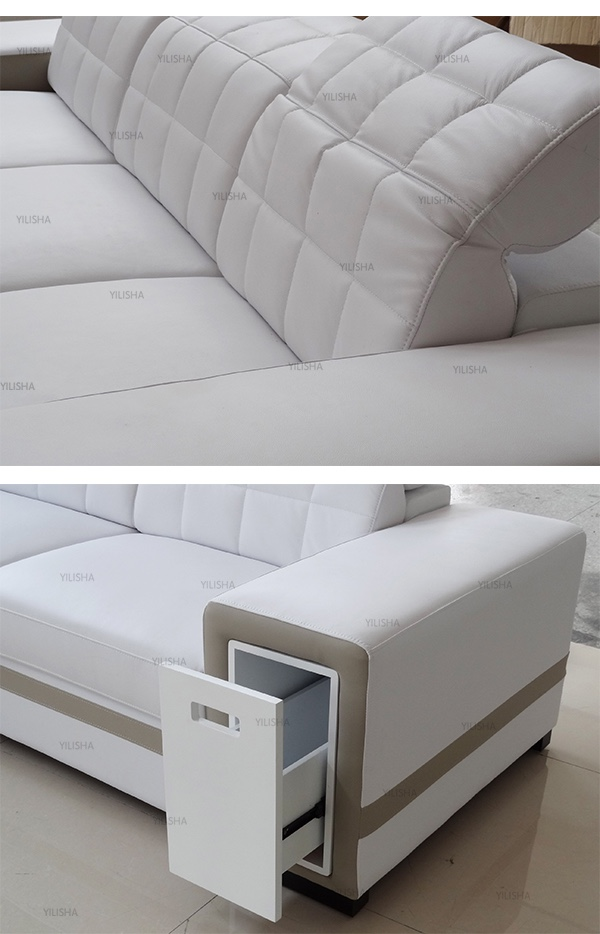 alibaba express space saving living room sofa furniture in white and