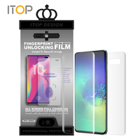ITOP New! S10 fingerprint unlock TPU Film touch sensitive for Samsung S10 S10e S10 Plus screen protector