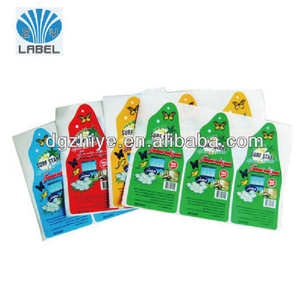 Printing Products Packing Label,Permanent Adhesive Waterproof Labels for shampoo bottles,eco-friendly Adhesive Label Printing