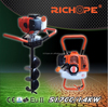earth drilling machine 52cc from chinese manufacturer factory