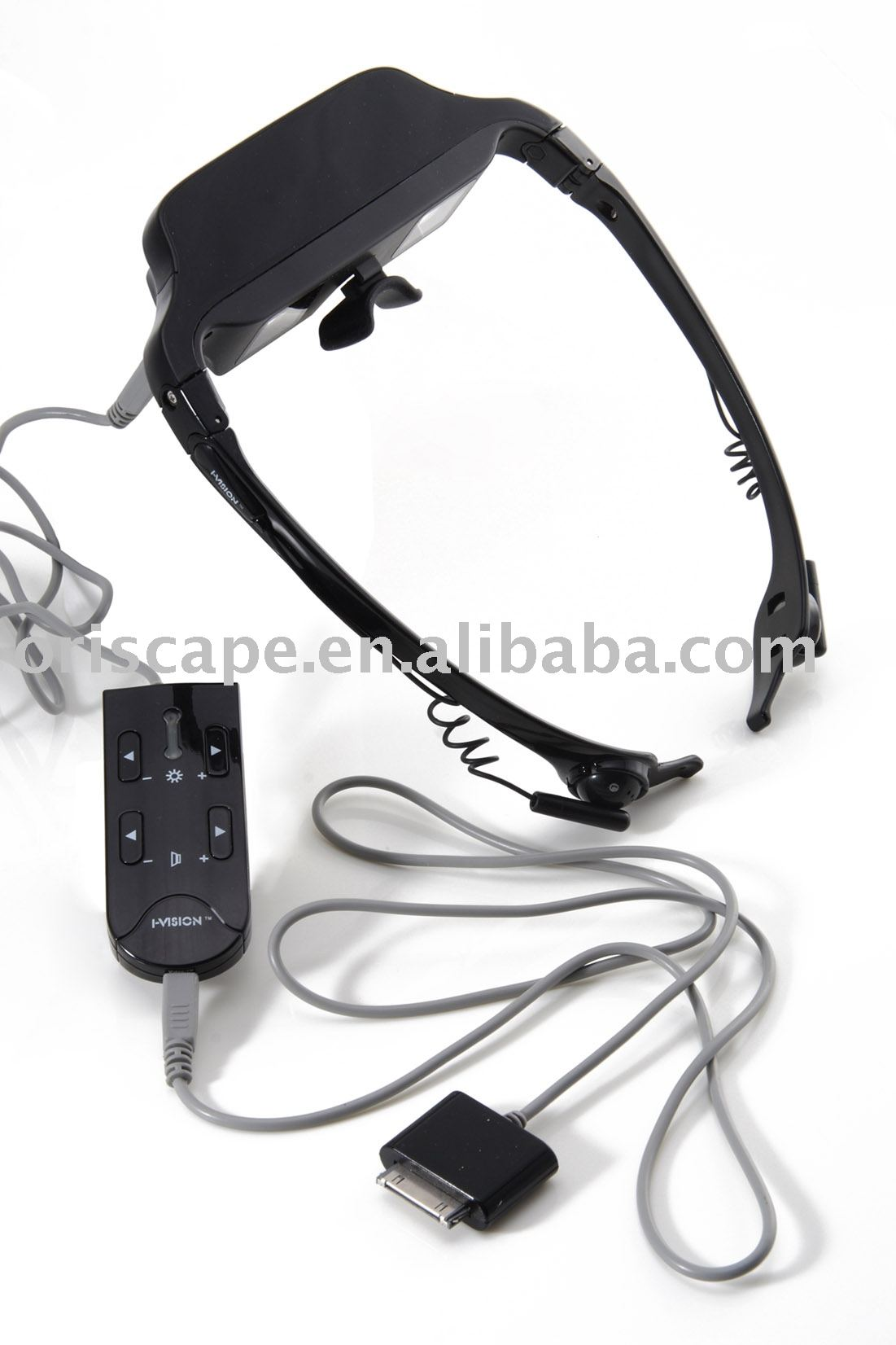 Video Glasses for iPod, MP5, DVD, TV, play station