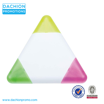Promotional Gel Triangle Highlighter