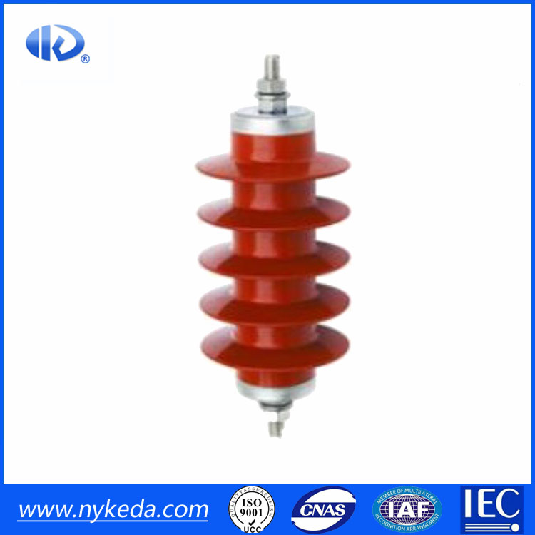 12KV metal Oxide Electrical Equipments SPD Thunder Arrester Polymeric Composite