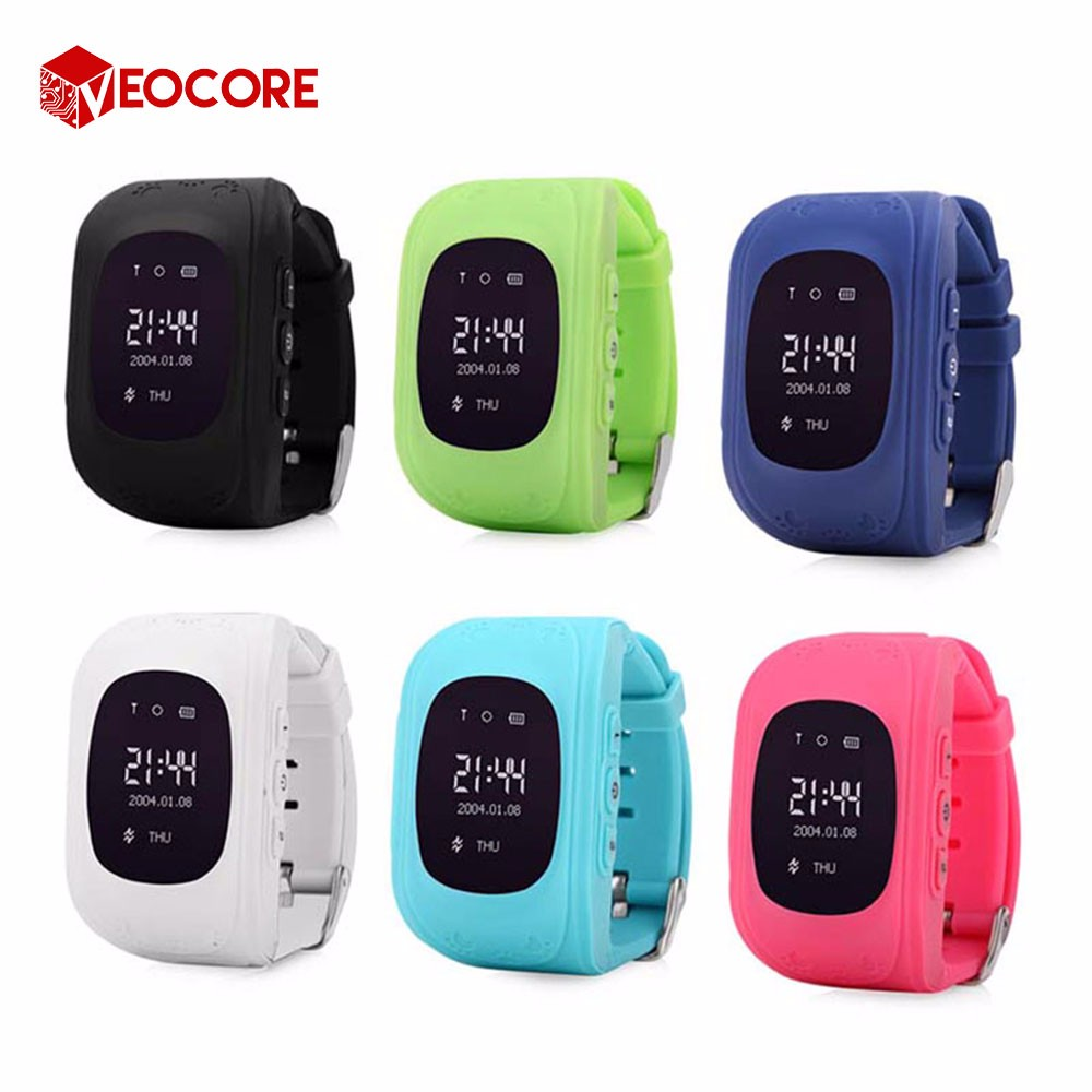 Factory direct supply Anti-lost watch baby smart watch Q50 kids gps watch with sos panic button