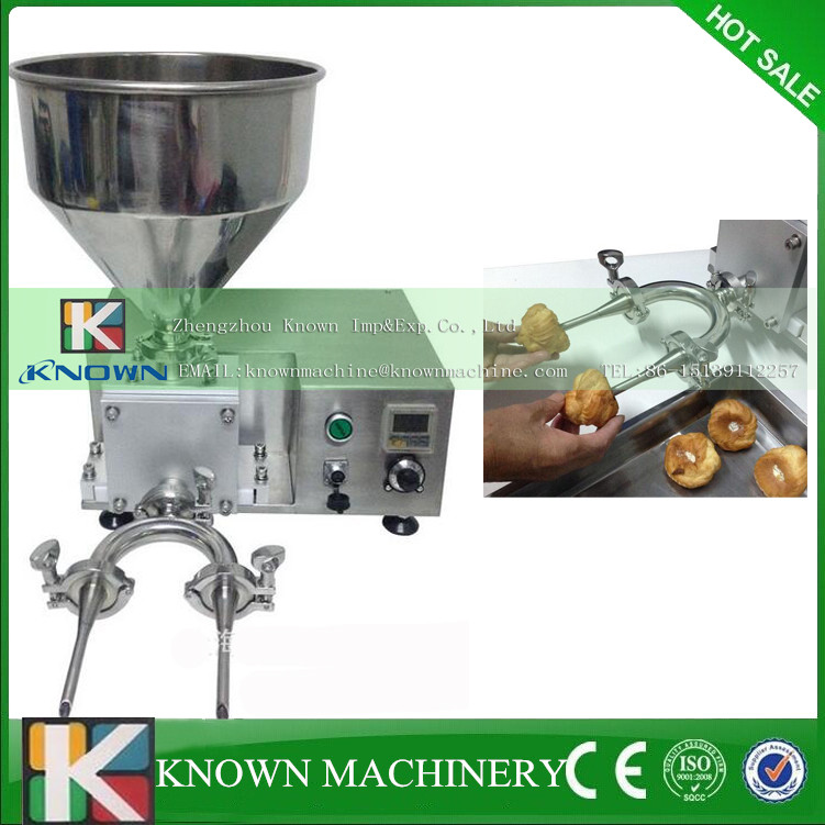 Semi-automatic pastry cream filling machine | Multifunctional Pastry Injection Machine/Cream Injector