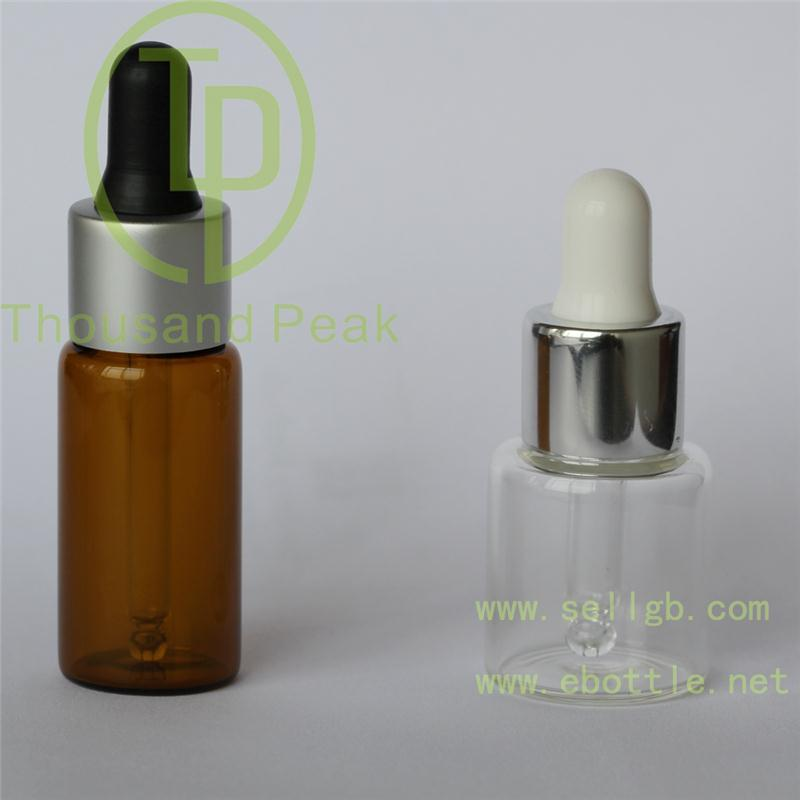 hot sale cosmetic serum glass essential oil bottle round shape cylindrical 50ml frosted glass dropper bottle wholesale