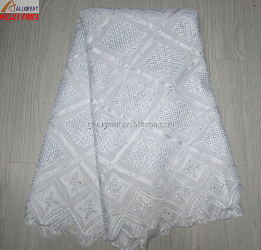 Latest design of african swiss voile lace