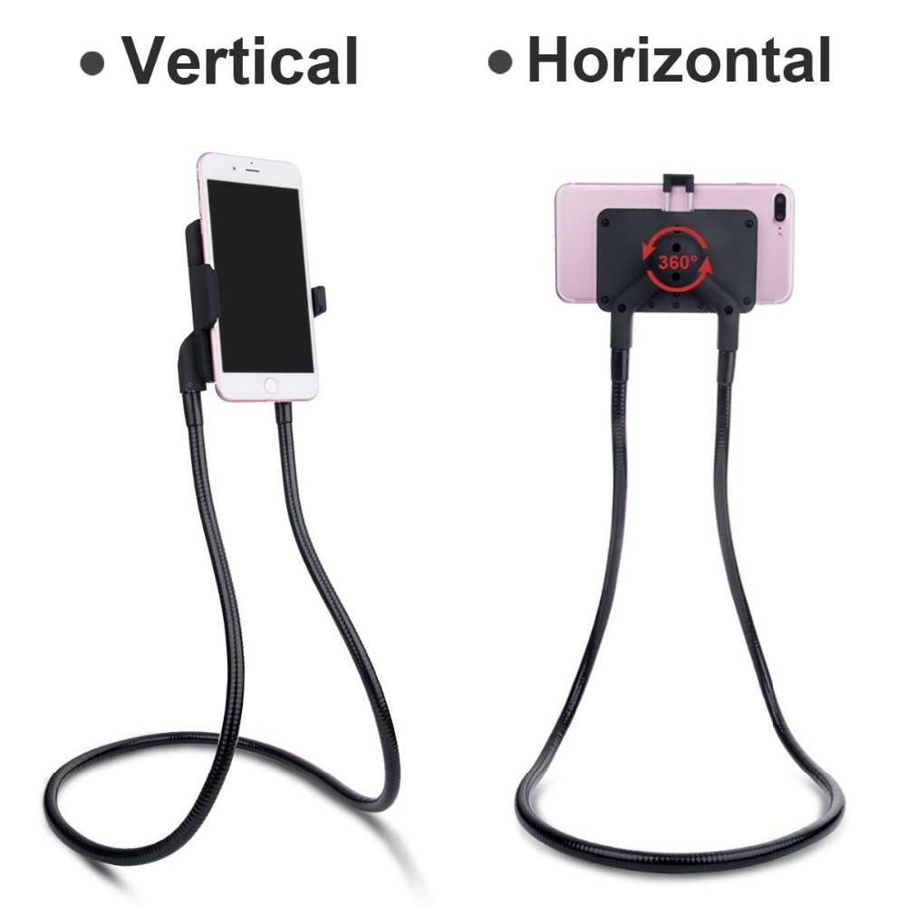 FZS-NPH1 forever living products universal mobile phone stand lazy neck phone holder car phone holder