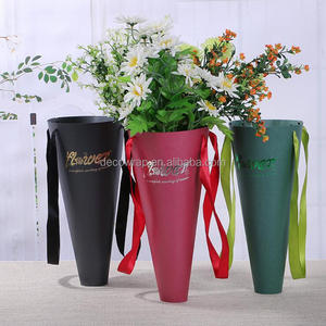 Waterproof paper flower bag for flower packing