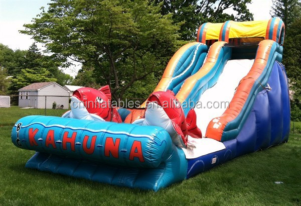 Cheap Inflatable Slides For Sale/ High Quality Inflatable Big Kahuna Water  Slide - Buy Hot Sale Giant Inflatable Big Kahuna Water Slide,Giant