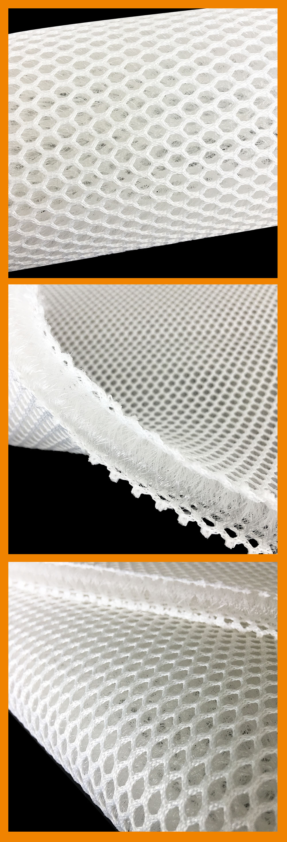 12mm thickness air conditioning padded mesh fabric, mattress fabric 3d