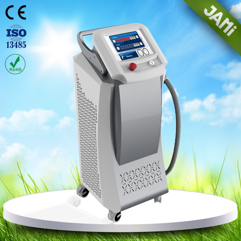 Lowest price 810nm rf laser diode women's hair removal machine cost