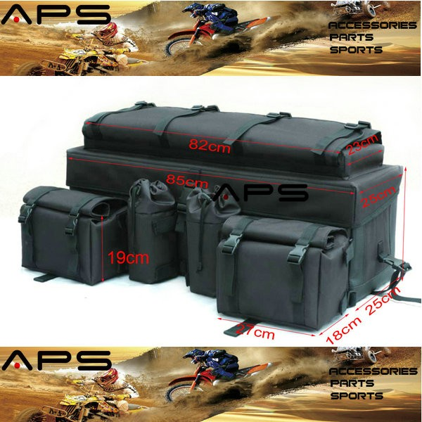 Atv Cargo Bag Rear Storage Rack Tools Bags Accessories