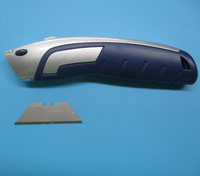 high quality quick change blade heavy duty zinc alloy pocket utility knife