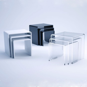 Clear Plastic Coffee Table Acrylic White End Table And Coffee Table Sets