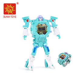 metal alloy body electric mini talking voice repeat die cast toy robot