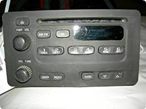 "Radio : CAVALIER 00-02 AM-mono-FM-stereo-CD player ""U1C"""