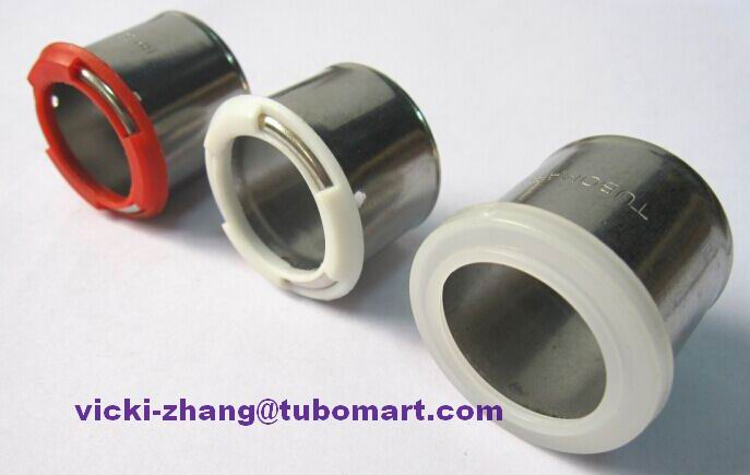 304 stainless steel sleeve u type for pex al pex pipe press fittings