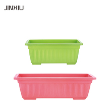 plastic flower pot trays rectangular