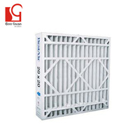 Most popular customized sizes pleated air filter cardboard frame