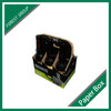 Beverage Industrial Use Cardboard 6 Pack Bottle Carriers