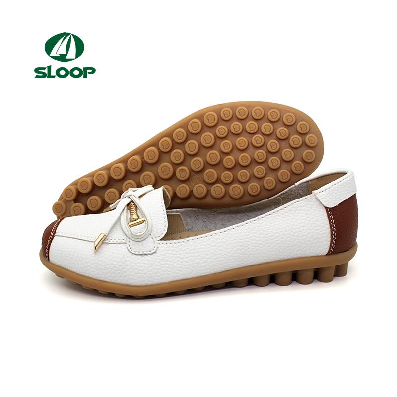 45a9f00e8 Todas as marcas de sapatos de borracha das mulheres sapatos casuais sapatos  de couro genuíno plana