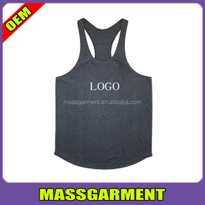 GYM Racerback Y-Back Stringer Singlet Men's Cotton Stringer Tank Top