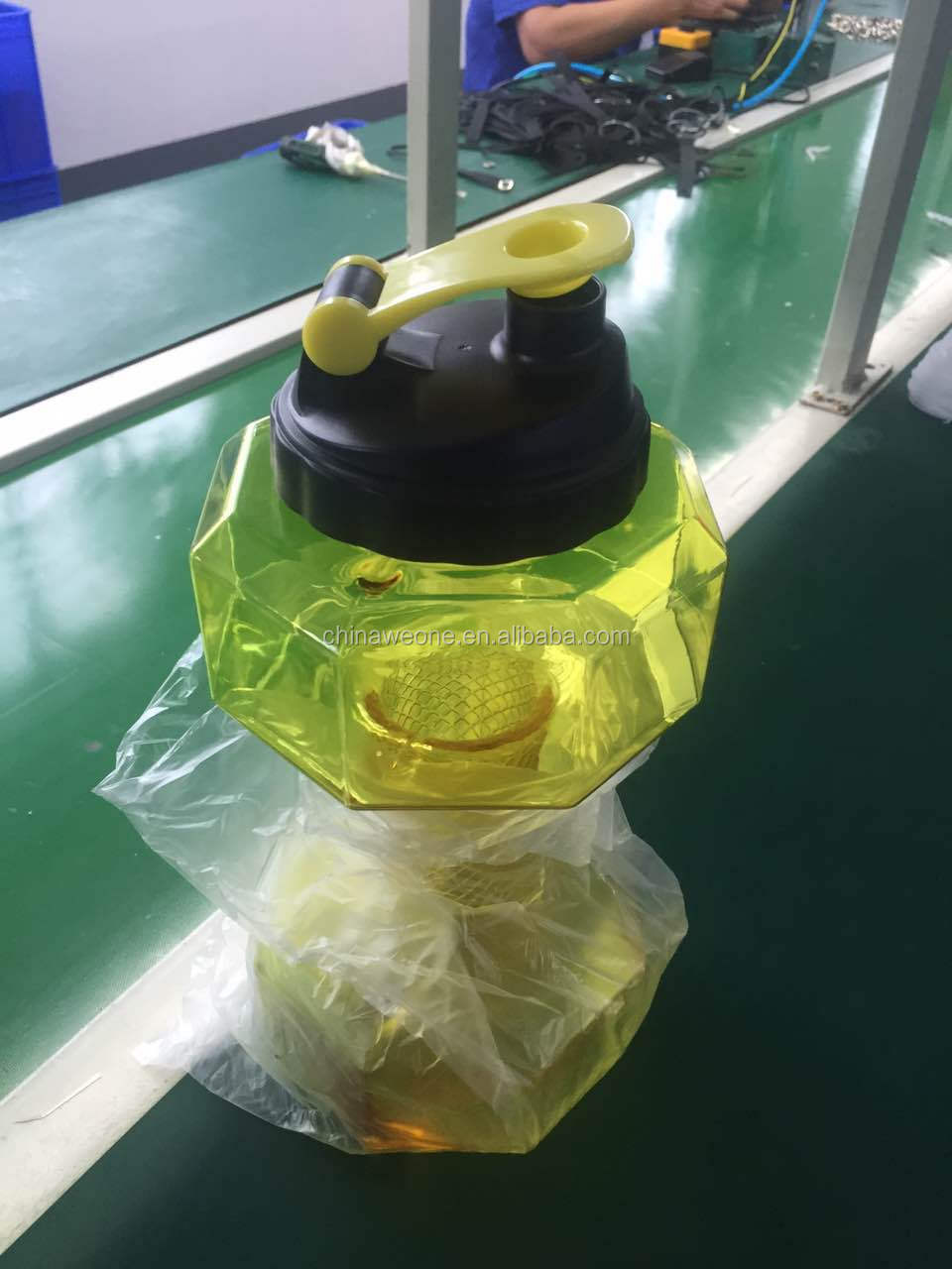 High quality PETG 2.2l Dumbbell Shape Water Bottle