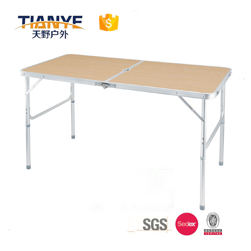 Tianye Aluminium Adjustable Folding Portable Camping Picnic Party Dining Outdoor Table