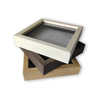 personalized wedding keepsake memorial box picture frame customized wooden shadow box photo frame for specimens