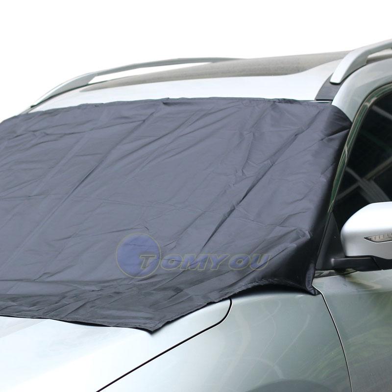 210 120 cm car windshield sun shade micro fiber winter car snow shield cover auto front. Black Bedroom Furniture Sets. Home Design Ideas