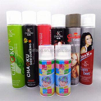Spray Hair Color Temporary Hair Spray Color - Assortment Halloween ...