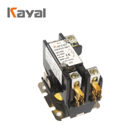 Air conditioner spare parts 220v single phase 2 pole contactor