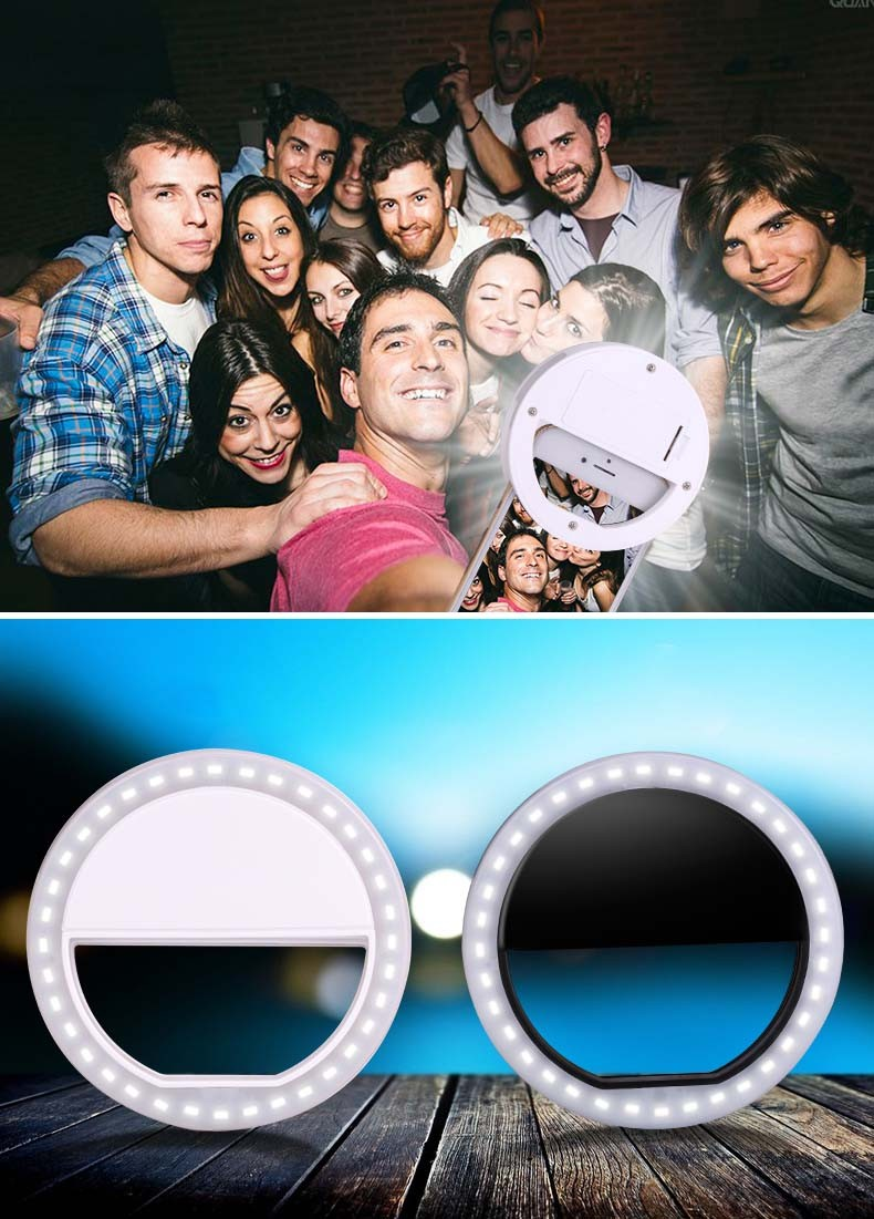 2017 Mobile phone selfie flash LED ringlight