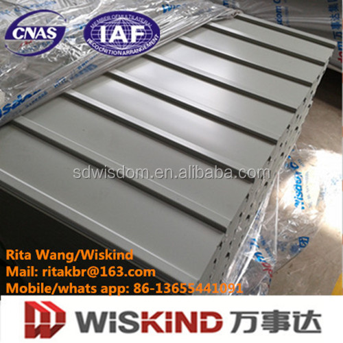 PVDF Color Coated Galvanized Corrugated <strong>Steel</strong> Roofing Sheet