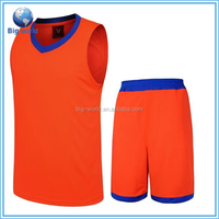 Big world 2015 new design sublimation breathable custom basketball uniforms for men