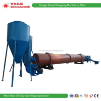 Mingyang machinery plant rotary drum type wood sawdust chip dryer machine timber drying kilns