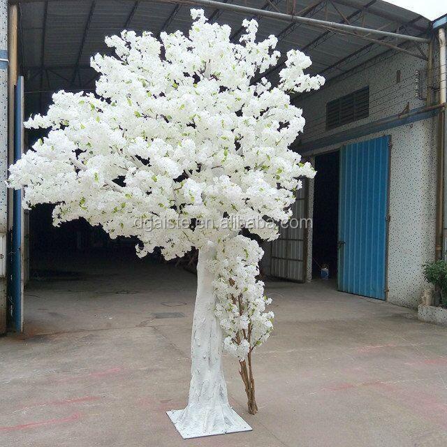 lifelike wedding decoration fake cherry tree factory artificial