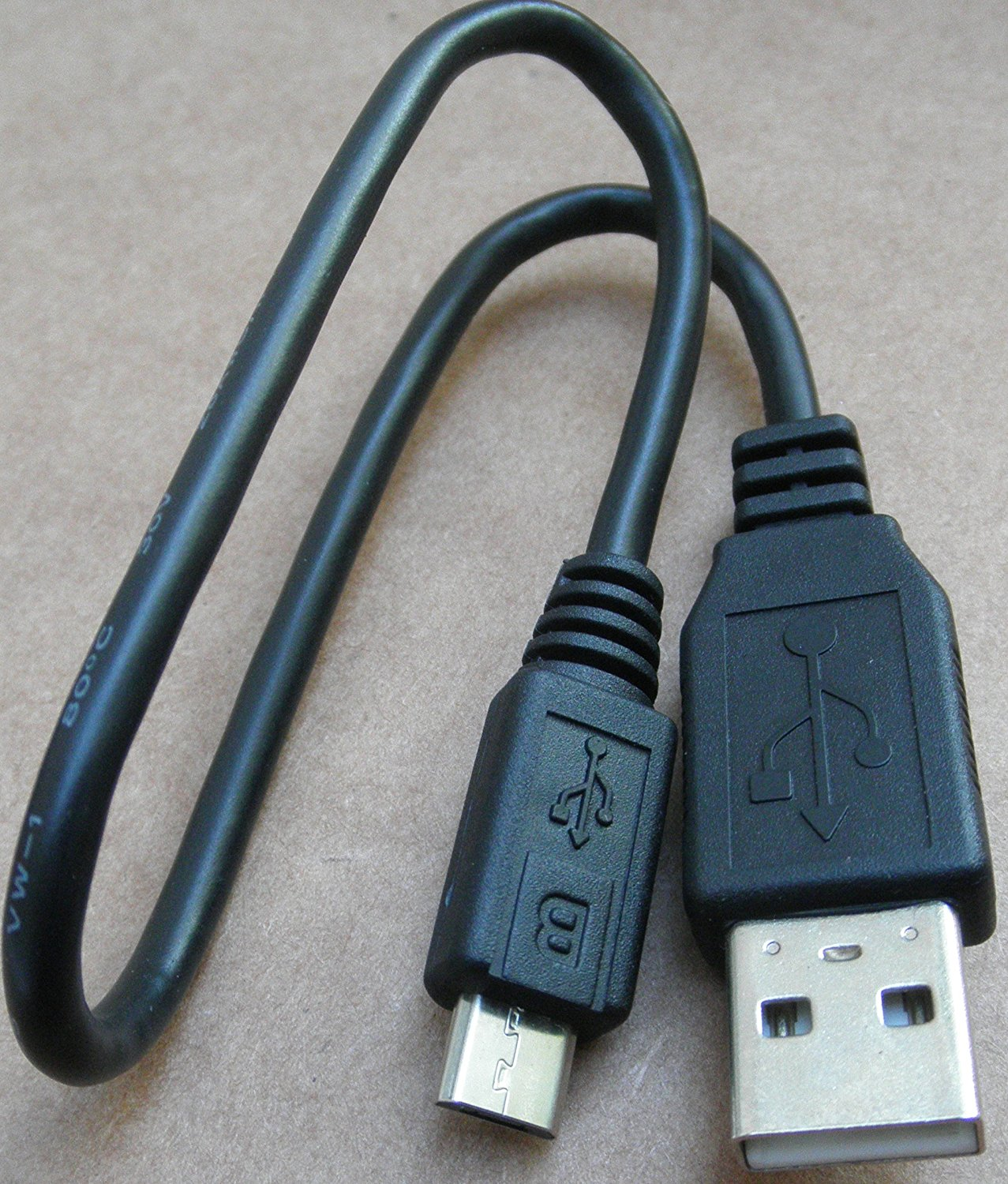 Genuine 1ft USB Cable for Logitech BH870 Wireless Bluetooth Headset - Bluetooth earpiece NOT included