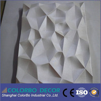 3d MDF decorative wall panels with lowes soundproofing