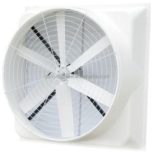 wall mounted big air cooled axial flow ventilation fan for the poultry chicken houses