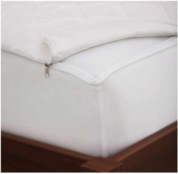 mattress cover with zipper. hotel home quilted mattress protector cover with zipper n