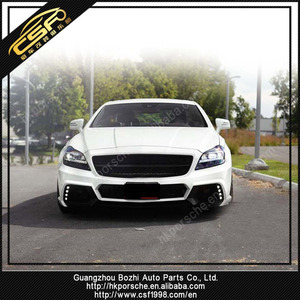 Cost-effective WD body kit for 11-14 CLS W218 bumper kit& front bumper