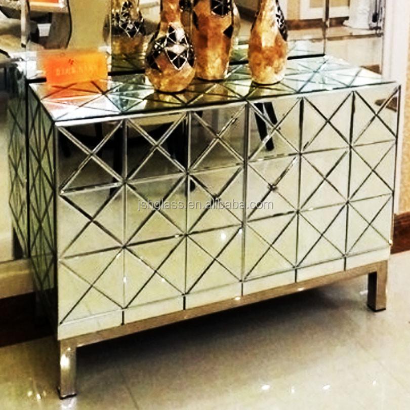 gespiegelde meubels gespiegelde jss antieke woonkamer kast, Meubels Ideeën