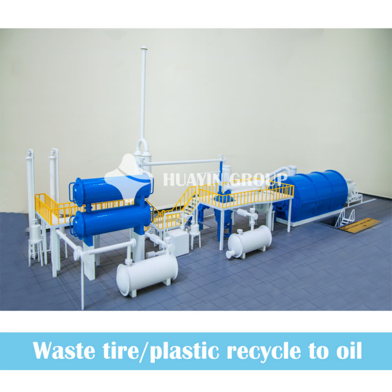 2013 Recycling Waste To Oil ! HUAYIN Pyrolysis Equipment
